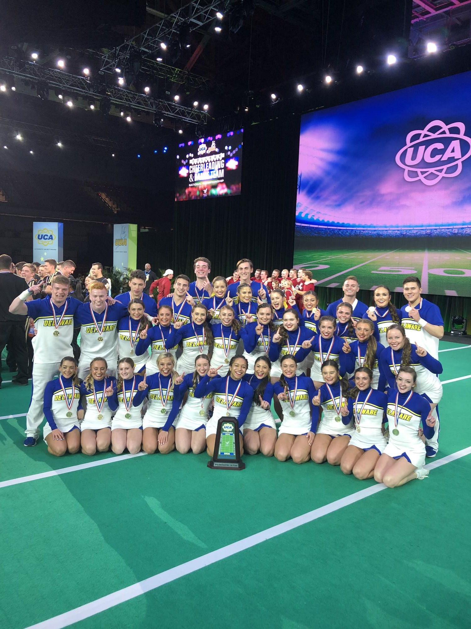 University Of Delaware Calendar 2020 2019 2020 Delaware Cheer Tryouts   University of Delaware Athletics